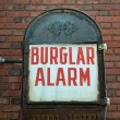 Stock Photo: Burglar Alarm