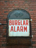 Burglar Alarm — Stock Photo