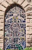 教堂的窗户 — 图库照片