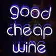 Good Cheap Wine — Stock Photo