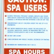 Spa Rules — Stock Photo