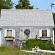 Stock Photo: Cape Cod Shack