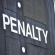 Penalty — Stock Photo