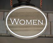 Women sign — Photo