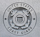 Coast Guard Seal — Stock Photo