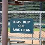 Keep Park Clean 2 — Stock Photo #34501015