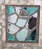 彩绘玻璃 — 图库照片