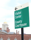 Courthouse Sign 5 — Stock Photo