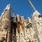La Sagrada Familia-BARCELONA, SPAIN — Stock Photo