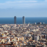 Panorama of Barcelona — Stock Photo