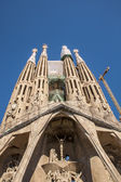 La Sagrada Familia-BARCELONA, SPAIN — Stock fotografie