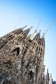 La Sagrada Familia-BARCELONA, SPAIN — Стоковое фото