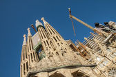 La Sagrada Familia-BARCELONA, SPAIN — Stockfoto