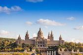 Placa de españa'nın, barcelona ulusal müzesi. i̇spanya — Stok fotoğraf