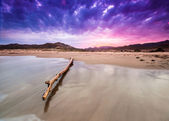 Genoveses beach and sea-Spain-Almeria-Cabo de Gata natural park — Stock Photo