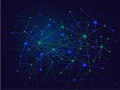 Teknolojik altyapı. vektör çizim — Stok Vektör