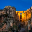 The village of Ronda in Andalusia, Spain. - Foto Stock