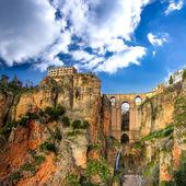 A aldeia de ronda, na andaluzia, espanha. — Foto Stock