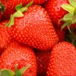 Fresh Strawberries Full Frame Background — 图库照片