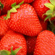 Fresh Strawberries Full Frame Background — Foto de Stock