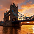 Tower Bridge  in London, England — Photo