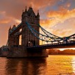 Tower Bridge  in London, England — Lizenzfreies Foto