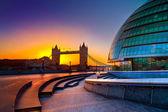 タワー ブリッジ、ロンドン、イギリス — ストック写真