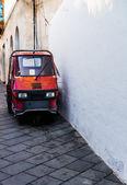 Tiny Italian Truck — Stock Photo