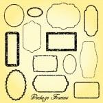 Vintage Frames — Stock Vector #38030205