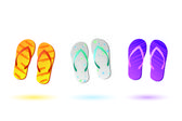 Colorful Sandals — Stock Photo