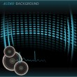 Audio Background — Stock Vector #40918265