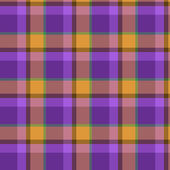 Plaid Pattern, Illustration — Stok Vektör