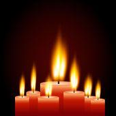 蜡烛图 — 图库矢量图片