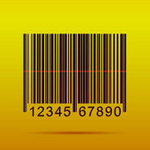 Barcode — Stock Vector