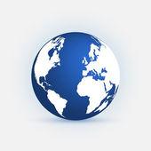 Earth Blue — Stock Vector