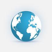 Earth Illustration — Stock Vector