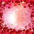 Valentines day background with hearts — Stock Vector #18551687