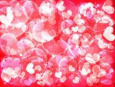 день святого валентина фон с сердечками — Cтоковый вектор
