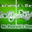 Royalty-Free Stock Vector Image: St. Patrick\'s day type text collection