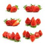 Set of a fresh strawberries — Stock Photo #22286525