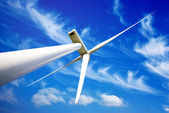 Wind energy turbine — Stock Photo