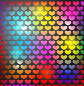 Abstract Valentine's day background — Vector de stock