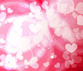 Abstract Valentine's day background — Stock Vector