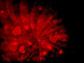 Abstract Valentine's day background — Stock vektor
