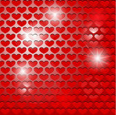 Abstract heart background — Vecteur