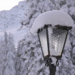 Snow lantern — Stock Photo #39505285