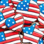 Patriotic cookies — Stockfoto #11144934