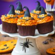 Halloween cupcakes — Stock Photo #12389962