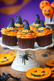 Halloween cupcakes — Photo
