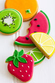Summer cookies — Stock Photo